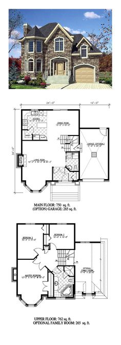 Victorian House Plan 48188 Total Living Area 1512 sq ft 3 bedrooms and 2 bathrooms Sims House Plans, New House Plans, House Floor Plans, Stone House Plans, Family House Plans, Victorian House Plans, Craftsman House Plans, Victorian Homes, The Plan