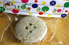 """baby shower sandwiches   My kids loved these """"Cute as a Button"""" Sandwiches!"""