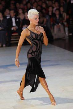 Vesadesign.com dancesport ballroom dress latin dance salsa bachata dress costume