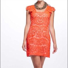 One Day Sale Yoana Baraschi Coral Dress