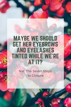 Heartbreak is always relatable. Read Tara's story in The Seven Steps to Closure. Eyebrow And Eyelash Tint, Eyelash Tinting, Discovery News, The Seven, Sign I, Announcement, Thankful, How To Get, Joy