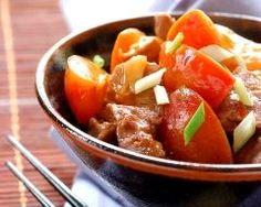 Porc à l'aigre douce de Chine (facile, rapide) - Une recette CuisineAZ