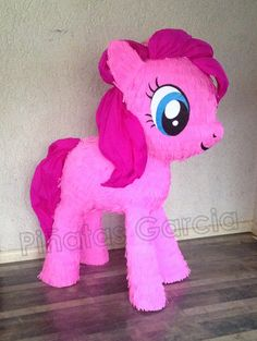 My little pony Pinky Pie piñata!