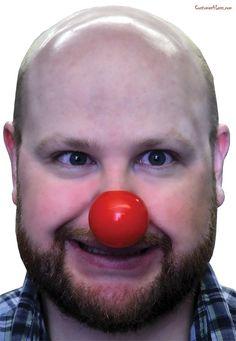 Clown Nose Plastic#Clown, #Nose, #Plastic Halloween Costume Accessories, Cute Halloween Costumes, Cool Costumes, Halloween Ideas, Clown Nose, Creepy Clown, Reindeer Costume, Morris Costumes, Clowning Around