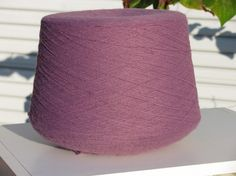 Acrylic Yarn Beautiful Mauve Color by stephaniesyarn on Etsy, $10.00