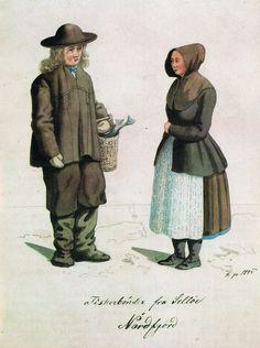 Frich 1845 Fiskerbønder fra Selløe i Nordfjord - Nordfjordbunad - Wikipedia