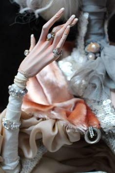 """Любимая кукла: Галина Дмитрук. """"Готические аристократки и мистические ведьмочки"""""""