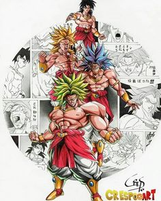 Broly Please double tap and comment your opinion your opinion (Credit @crespoo_art) _______________________________ #DragonBall…