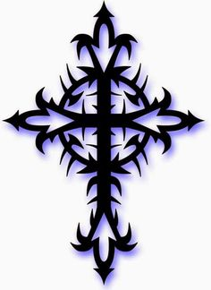 Cross Photo: This Photo was uploaded by djrobmusic. Find other Cross pictures and photos or upload your own with Photobucket free image and video hostin. Tribal Cross Tattoos, Celtic Cross Tattoos, Cross Tattoo Designs, Cross Designs, Celtic Crosses, Tribal Designs, Tattoos For Guys, Cool Tattoos, Cross Coloring Page