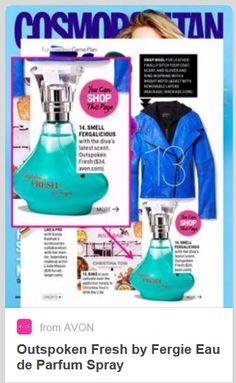 Fergalicious! Cosmopolitan is promoting Fergie's new Avon fragrance - FRESH