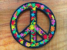 Vintage 70/'s Been There Done That Hippie Backpack Vest Jacket Patch Peace Love