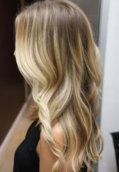 Balayage...lets the roots grow out more easily