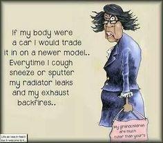 If my body were a car...