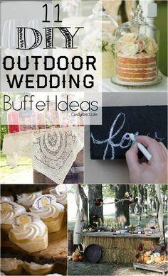 11 Diy Candy Ideas For Rustic Weddings