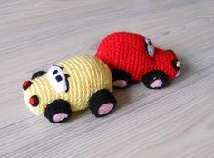 Crochet cars/trucks/trains/planes/ tractors/etc on Pinterest ...