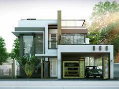 Awe Inspiring Modern House Design Series Mhd 2014014 Pinoy Eplans Modern Largest Home Design Picture Inspirations Pitcheantrous