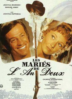 """The Scoundrel(1971) """"Les mariés de l'an deux"""" (original title) Stars: Jean-Paul Belmondo, Marlène Jobert, Laura Antonelli, Michel Auclair, Julien Guiomar ~  Director: Jean-Paul Rappeneau (Nominated for The Palme d'Or at the 1971 Cannes Film Festival)"""