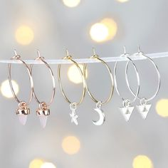 aa0c7e640 Looking for Ladies' Jewellery? Try our Set of Charm and Hoop Earrings,  with. Lisa Angel