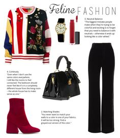 """""""Untitled #158"""" by kenza-sallemi on Polyvore featuring Vince, Dolce&Gabbana, Miu Miu, Maison Margiela, John Lewis and Rolex"""