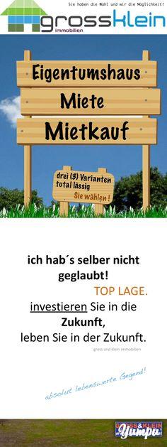 Mietkauf - Magazine with 36 pages: Leben in der Natur  20 Min bis Wien Wahnsinns Kombination   Niedrigenergiehaus – Erstbezug – Ideale Erreichbarkeit !  Architektengeplantes Haus in Pixendorf bietet auf 122 qm   - Wohnzimmer mit Wohnküche oder  o Wohnzimmer mit abgeteilter Küche o 3 Schlafzimmer o 2 Bäder  o 3 WC´s o ausgeführt mit Fussbodenheizung o beheizt wird mit FERNWÄRME (Biogen + Kostenangenehm) o natürlich Terrasse  o und das alles auf angnehmen 362 qm Eigengrund.   Das Haus kostet…