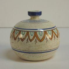 Design Keramikvase. Magnanelli Gubbio Italy. 1950 - 1955.