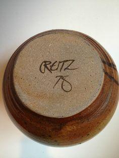 William (Bill) Creitz Signature. Oregon & California.