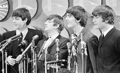 1964, February 7, Press conference at the Kennedy Airport