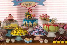Encontrando Ideias: Aniversário Menina Festa Confeitaria