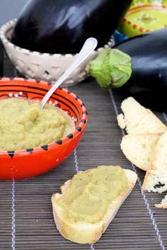Crema di melanzane light per pasta e crostini