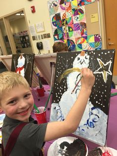Love Snowman Bliss painting! Perfect time to think to make REAL one.