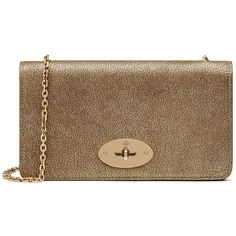 Mulberry Bayswater Clutch Wallet (€615) ❤ liked on Polyvore featuring bags, wallets, metallic mushroom, slim wallet, metallic bag, mulberry wallet, metallic wallet and mulberry bag