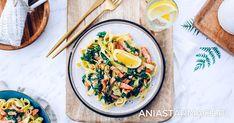 Błyskawiczny pomysł na smaczny obiad :) Noodles, Pasta, Lunch, Fish, Dinner, Cooking, Ethnic Recipes, Curry, Macaroni