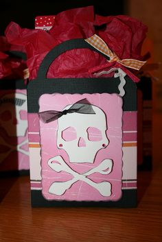 party favor bags designed by Brandi Dickerson