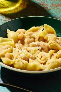 Cannellini-Bean Pasta With Beurre Blanc Recipe - NYT Cooking Pasta Recipes, Dinner Recipes, Cooking Recipes, Soup Recipes, Dinner Ideas, Risotto, Cannelloni, Small Pasta, Most Popular Recipes