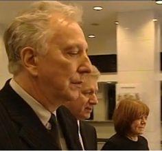 Alan Rickman and Rima Horton at the Camerimae Film Festival