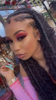 Cover Girl Makeup, Instagram Baddie, Best Friend Goals, Covergirl, Bombshells, Natural Hair Styles, Wigs, Curvy, Braids