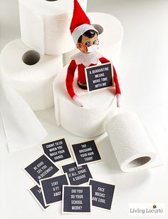 Funny Elf Letter Board Printables. Creative Elf on the Shelf ideas to keep your kids entertained while stuck at home during the quarantine.
