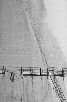 Barrage de Vajont, Italie. Abandonné depuis la catastrophe de 1963.