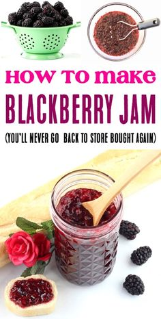 Blackberry Jam Recipe Easy Small Batch Canning Recipes for the Best Homemade Jam. Blackberry Jam Recipe Easy Small Batch Canning Recipes for the Best Homemade Jam. Blackberry Jam Recipe Easy Small Batch Canning Recipes for the Best Homemade Jams Blackberry Jam Recipe Easy, Seedless Blackberry Jam, Blackberry Freezer Jam, Blackberry Recipes For Canning, Strawberry Jam, Frugal, Jam And Jelly, Jelly Recipes, Canning Recipes
