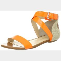 NWOT Enzo Angiolini The sandals are in perfect condition and have never been worn! They are adorable and perfect for spring! Please bundle for a better price! Enzo Angiolini Shoes Sandals