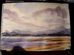 "▶ ""Sail Away"" Part 2 Watercolour Landscape Painting Demonstration - YouTube"