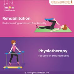 #Rehabilitation ensures maximum functionality after an ailment and #physiotherapy focuses on staying mobile. Follow our page for more updates on #physicaltherapy. Physical Therapy, You Got This, Its Ok, Physical Therapist