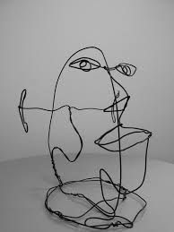 alexander calder wire sculptures On this particular face, calder wanted to esperiment the influence of cubism more then in other protrait.