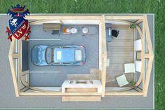 SunShine-Glulam-Timber Frame- 5.5m x 9.0m Garage. Designed by www.logcabins.lv  (3)