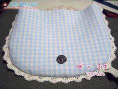 Got an idea: Handmade fabric bag for summer. Summer Handbags, Summer Bags, Handmade Fabric Bags, Fabric Handbags, Diy Sewing Projects, Crochet, Simple, Tutorials, Guys