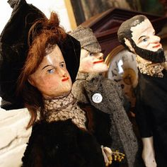 antique punch puppets | Antique Punch and Judy puppets