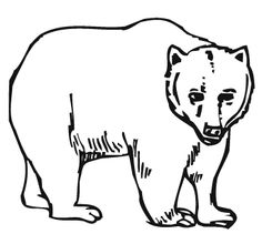 Mother Bear Coloring Page