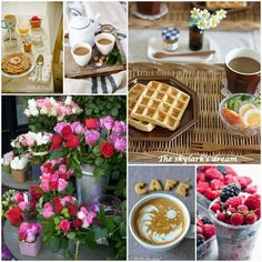 Have a delicious morning! Word Collage, Color Collage, Good Morning Coffee, Morning Wish, I Need A Hobby, Mix Photo, Happy Everything, Beautiful Collage, Good Morning Greetings