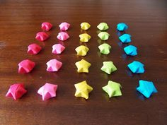Diversion Showcase: Stars in Jars Origami Stars, Jars, Pots, Vases, Mason Jars, Canisters, Jar