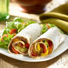 Hot off the grill or fresh from the skillet, vegetable wraps are an easy and fun way to feed the family fast. Try this meatless version - made with the goodness of GOYA® Refried Beans - or add leftover meat or poultry from last nights dinner!